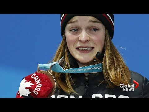 Canadian speedskater receives online death threats following Olympic bronze-medal win