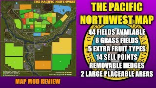 Farming Simulator 17 - The Pacific NorthWest Map v1.1.1.0