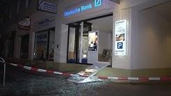 Geldautomat der Deutschen Bank in Osnabrück gesprengt