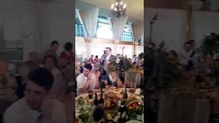 Свадьба Димы и Оли, песня родителей.