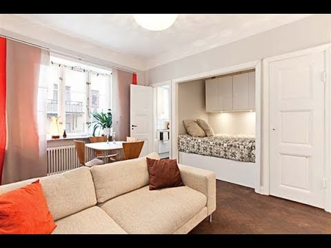 Cozy One Room Apartment With Paned Windows and Parquet Floors | Stockholm | HD