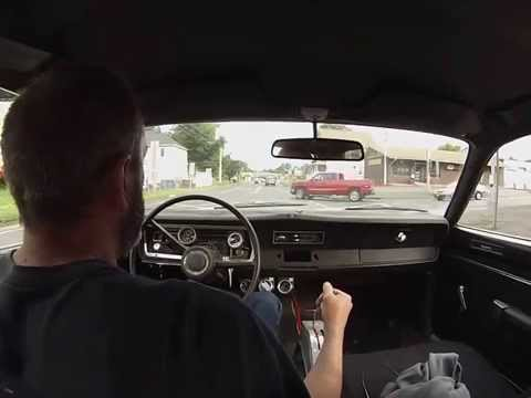 Big Block Plymouth Duster Street driving 1