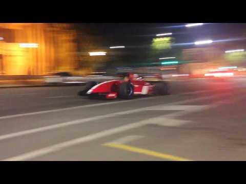 Ferrari FXX, F40 LM, 599XX & Vintage F1 cars leaving Adelaide Motorsport Festival 2017