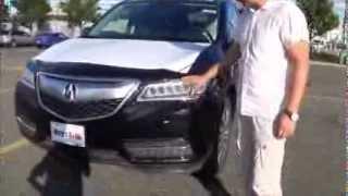 2014 Acura MDX из Америки, новые машины из США на заказ, Мега Авто