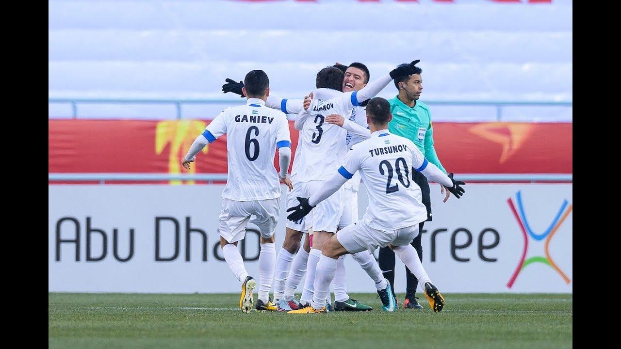 Video: U23 Uzbekistan vs U23 Trung Quốc