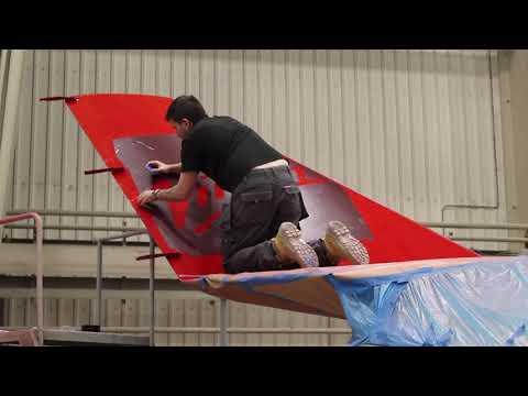 Virgin Atlantic A330-200 Time Lapse