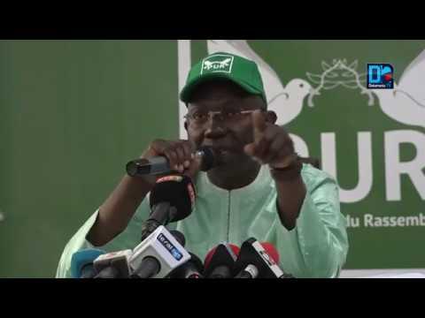 Violences électorales à Tamba  le PUR100 donne sa version des faits