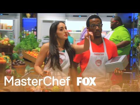 Shopping Blindly To Cook Chicken | Season 5 Ep. 16 | MASTERCHEF