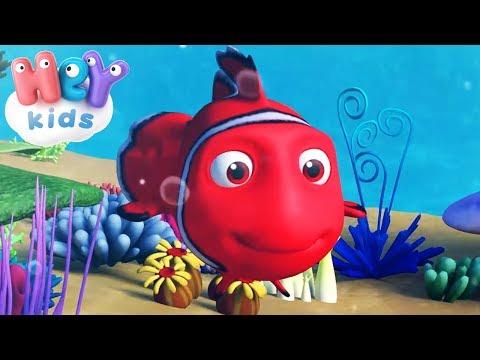 Kırmızı Balık Gölde - Bebek Şarkıları - HeyKids