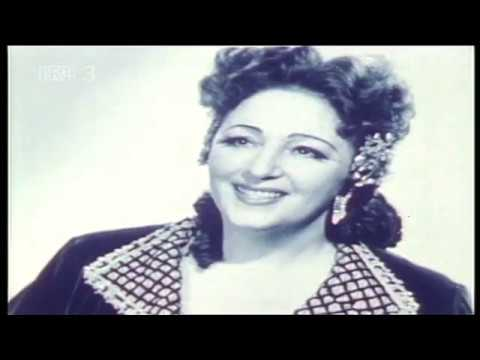 Zinka Milanov - a portrait (English subtitles). Part I
