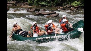 River rafting experience @ Adventures Unlimited in Ocoee, TN