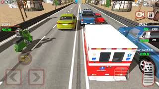 Highway Rider Bike Racing - Crazy Bike Traffic Race - Android Gameplay FHD