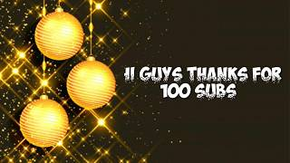 Gambar cover 100 Subs celebration 2019