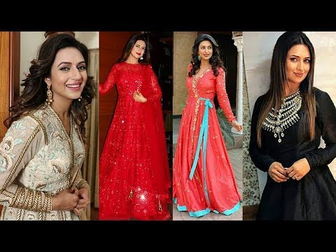 Divyanka Tripathi Dresses Collection || Long Kurti Design || Ishita Lookbook || Ye Hai mohabbatein