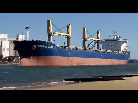 Port Adelaide Shipping _ (590) Yangtze Oasis