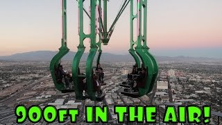 Repeat youtube video 8 YEAR OLD BOY SUSPENDED 120 STORIES HIGH!