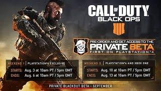 "Black Ops 4: FREE Blackout ""Battle Royale"" BETA CODES (2018)"