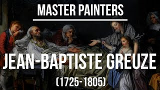 Jean-Baptiste Greuze (1725-1805) A collection of paintings 4K Ultra HD