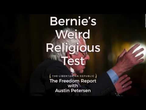 Bernie Sanders' Weird Religious Test