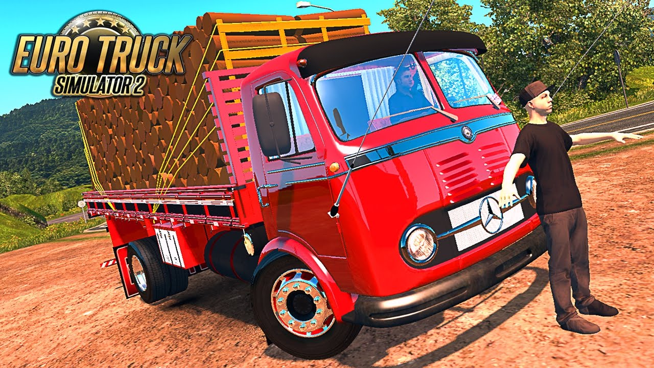 mercedes benz lp 321 euro truck 2 youtube. Black Bedroom Furniture Sets. Home Design Ideas
