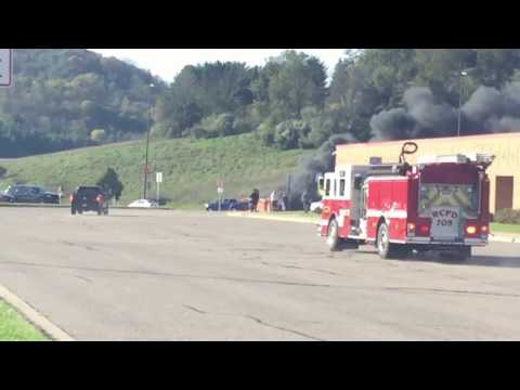 Fire At Richland Center High School(Bus)