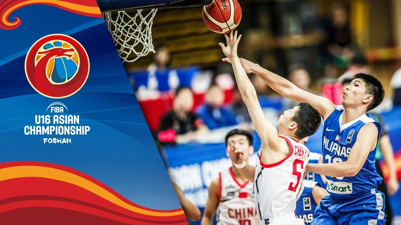China v Philippines - Highlights - Semi-Finals - FIBA U16 Asian Championship