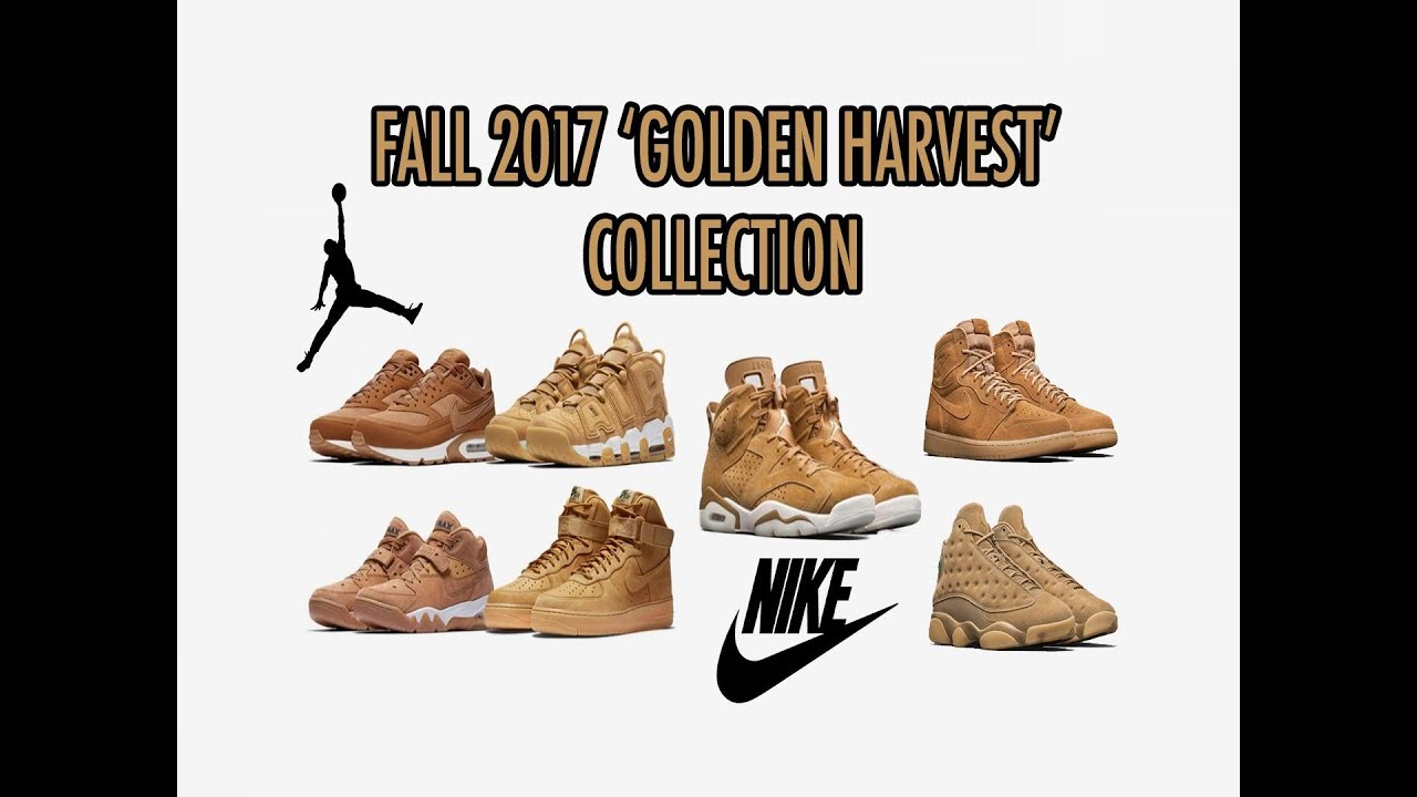 17e49e4bac3b3c Jordan   Nike  Golden Harvest  Fall 2017 Collection (What are your  thoughts )