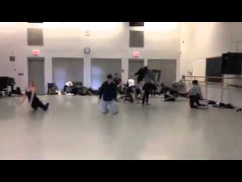Nicolette Alberti / rehearsal footage/  un(eye)t - (excerpt) / YCF 2015 video submission