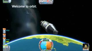 First Orbit and EVA - A Kerbal Space Program Tutorial