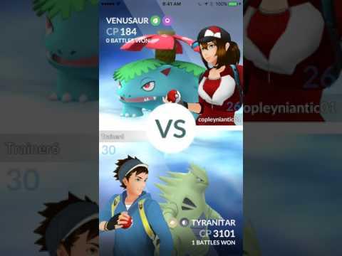 New Pokémon GO Gym Update Rival Battle