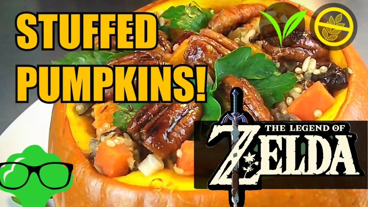 Stuffed pumpkin breath of the wild inspired vegan recipe youtube stuffed pumpkin breath of the wild inspired vegan recipe forumfinder Image collections