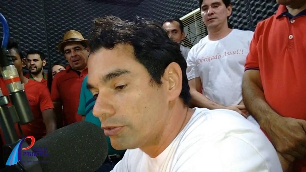 Gustavo Soares é o prefeito eleito de Assú - YouTube