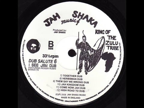 Jah Shaka Ft. Roger Robin - Come Now Jah Dub