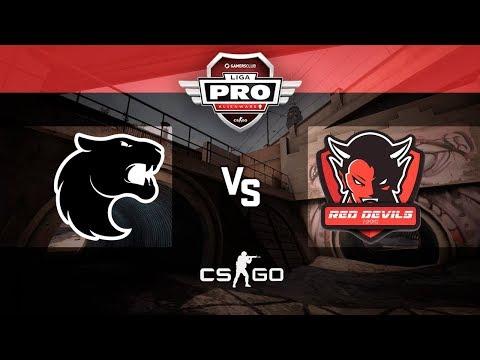 Alienware Liga Pro GC SET/17 - FURIA vs. Red Devils (Overpass)