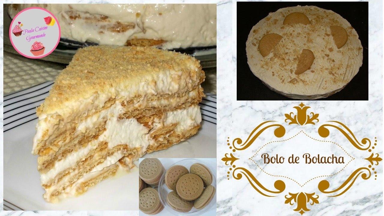 BOLO DE BOLACHA [gâteau de biscuits] ♡ RECETTE PORTUGAISE FACILE \u0026 RAPIDE  ♡♡♡