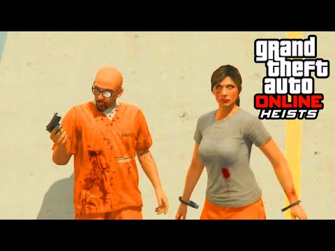 GTA 5 Heist - PRISON BREAK FULL HEIST GAMEPLAY! (GTA 5 Heist DLC Gameplay)