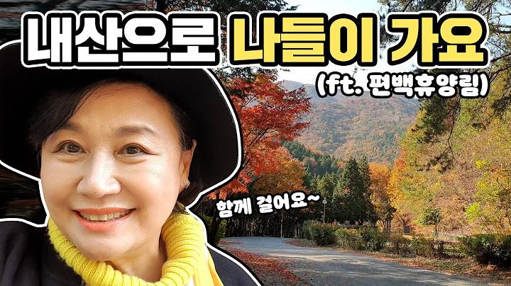 지난가을 다녀온 내산 나들이 / 봄에 보는 가을 단풍!?