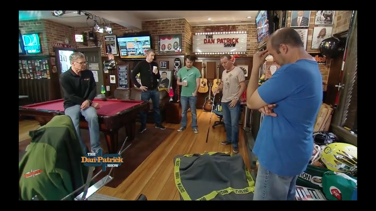 Man Caves Dan Patrick : Dp cold open incident in the man cave youtube