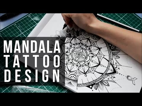 Mandala Tattoo Design Commission