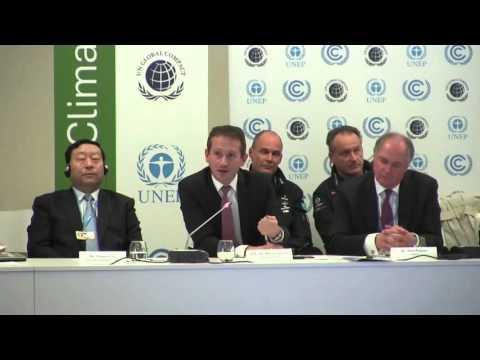 C4C Business Forum COP21 –  H.E. Mr. Kristian Jensen, Minister of Foreign Affairs, Denmark.