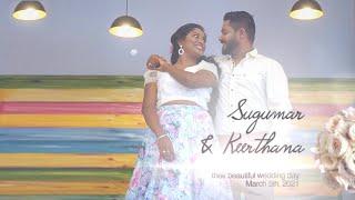 Kadhal Ondru Kanden Kanna Veesi Song | Sugumar & Keerthana Pre Wedding Shoot