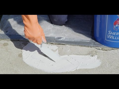 Concrete Surfaces Spalling - Sherwin-Williams