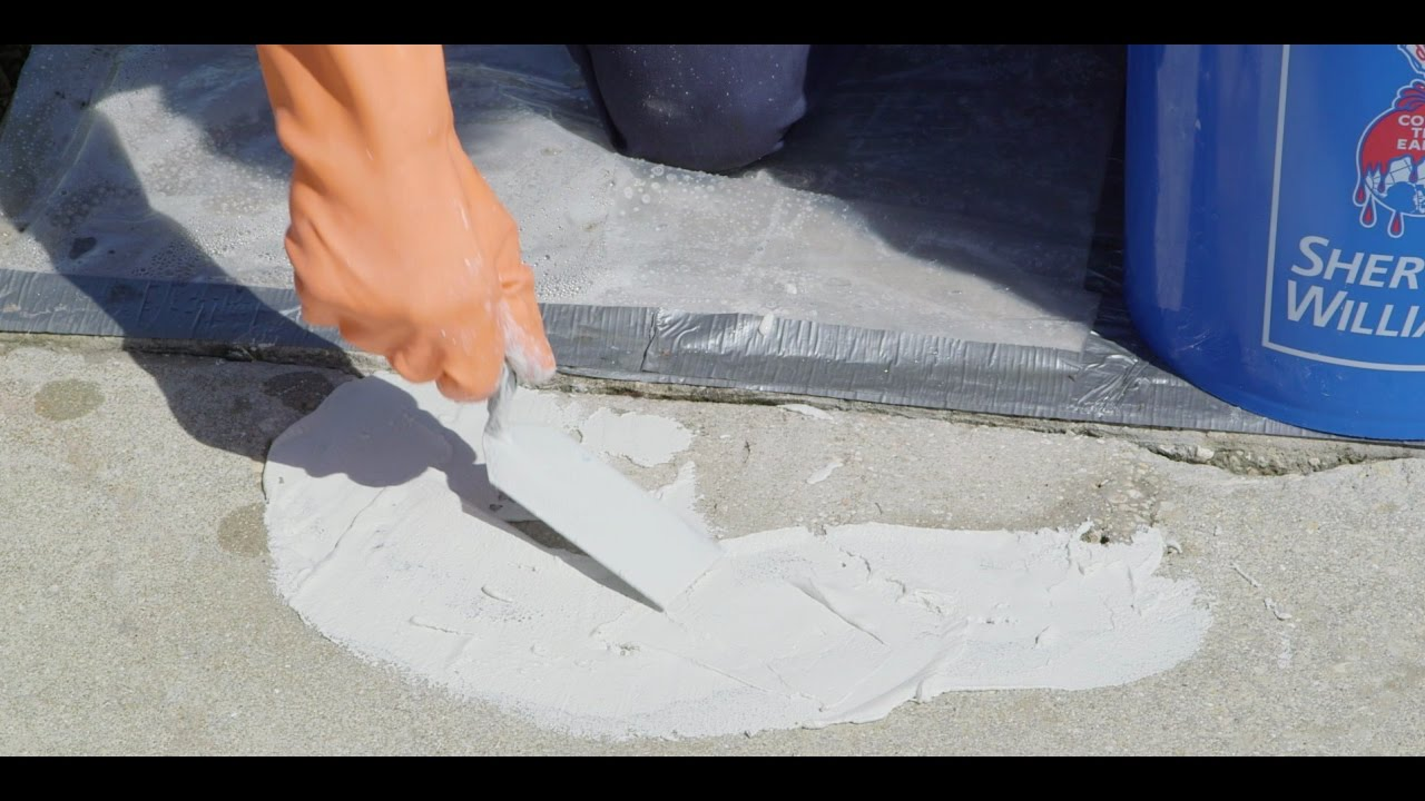 Concrete Surfaces Spalling Sherwin Williams You