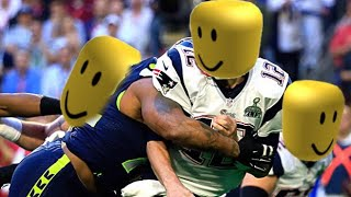 NFL hard hits replaced with roblox death sound