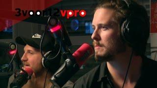 Interview met Bazart - Live bij 3voor12 radio