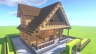 """✔ マインクラフト: 家の作りかた """"簡単に大きい家を作ろう! #14 thumbnail"""