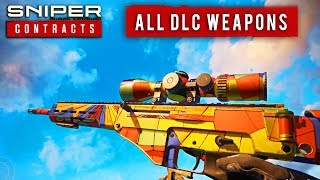 Sniper Ghost Warrior - All DLC Weapons and Skins Packs