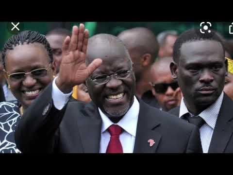 Tanzanian President John Magafuli Dead