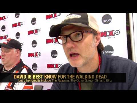 The Walking Dead's David Morrissey Interview