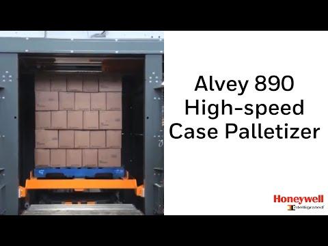 Alvey 890 High-speed Case Palletizer | Honeywell Intelligrated - YouTube